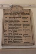 Image for Stoke-on-Trent Change Ringers Memorial - Stoke-on-Trent, Staffordshire.