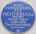 Image for F F E Yeo-Thomas Blue Plaque - Guildford Street, London, UK