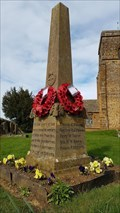 Image for Memorial Obelisk - St Leonard - Aston-le-Walls, Northamptonshire