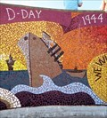 Image for D-Day 1944 - Mosaic - Eisenhower Pier, Bangor, Northern Ireland.
