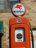 Image for Mobil Gas Pumps - Prairie du Rocher, Illinois