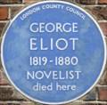 Image for George Eliot - Cheyne Walk, London, UK