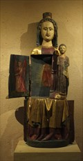 "Image for Virgin Mary with infant Jesus ""Vierge ouvrante"" Église Saints-Pierre-et-Paul d'Eguisheim - Alsace / France"