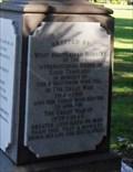 Image for Good Templars WW1 Memorial - Perth, Western Australia