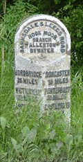 Image for Milestone - Barnsdale Road, Allerton Bywater, Yorkshire, UK.