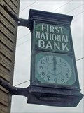 Image for First National Bank Clock - Cooper, TX