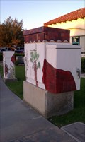 Image for Village Shopping Center Painted Utility Boxes - La Quinta, CA