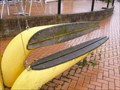 Image for Yellow Bench - Cardiff Bay, Wales, Great Britain.