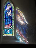 Image for St. Mary the Virgin - Stained Glass - Rhossili - Wales, Great Britain.
