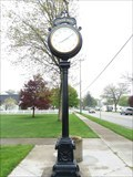 Image for Custer Park Clock - North Muskegon, Michigan
