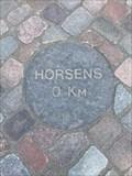 Image for 0 km sten -Horsens, Denmark