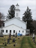 Image for Flemingville Methodist Church and cemetery - Flemingville, NY