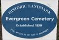 Image for Evergreen Cemetery - Santa Cruz, CA