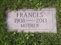 Image for 105 - Frances Emma Zehe - Ashland WI USA