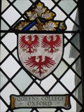 Image for Queens College Oxford  Coat of Arms- Charlton On Otmoor Oxon