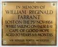 Image for William Reginald Farrant - Jurby, Isle of Man