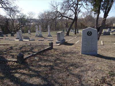 Alternate view from the grave of Samuel Joseph Redgate.
