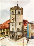 """Image for """"The Clock Tower, St Albans"""" by Malvina Cheek – Market Place, St Albans, Herts, UK"""