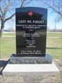 Image for St. Francois Xavier Historical Society War Memorial - St. Francois Xavier, Manitoba, Canada
