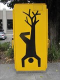 Image for Upside Down Man with Tree for Leg - Emeryville, CA