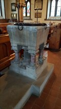 Image for Baptism Font - St Andrew - North Kilworth, Leicestershire