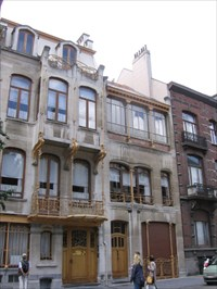 Maison atelier horta rue am ricaine 25 brussels for Deco americaine annee 50