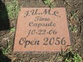 Image for First United Methodist Church of Farmersville Time Capsule - Farmersville, TX