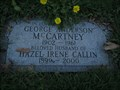 Image for 101 - Hazel I. Callin - Mount Pleasant Cemetery - Toronto, ON