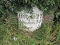 Image for A914 Milestone - Balmullo, Fife.