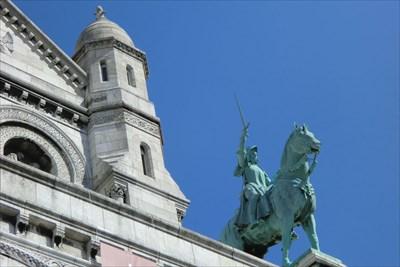 Statue équestre de Jeanne d