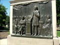 Image for Lincoln-Douglas Memorial Plaque - Quincy, IL