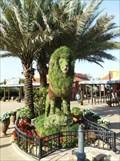 Image for Panthera leo 'Chlorophylum' Mugambi - Lion Topiary - Busch Gardens - Tampa, FL
