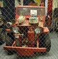 Image for US Navy CJ3 Fire Truck Jeep