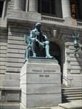 Image for Thomas Jefferson, Cuyahoga County Court House, Cleveland Ohio