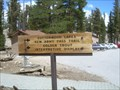Image for Golden Trout Wilderness, Horshoe Meadow Trailhead - California
