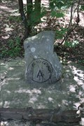 Image for AT stone monument -- Amicalola Falls State Park, Dawsonville GA