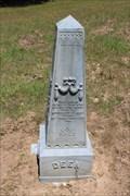 Image for Deen - Starrville Cemetery - Starrville, TX