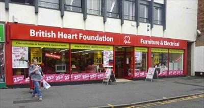British heart foundation furniture shop kidderminster for Furniture kidderminster