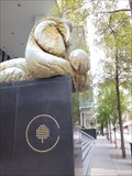 Image for Series of Two Architectural Lions, Marquis Two Tower - Atlanta, GA