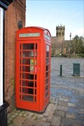 Image for Red Phone box - Atherstone, Warwickshire CV9 1ET