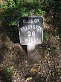 Image for Grand Union Canal Marker near Bridge 69, Old Wolverton, Bucks