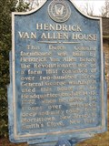 Image for Hendrick Van Allen House
