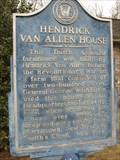 Image for Hendrick Van Allen House