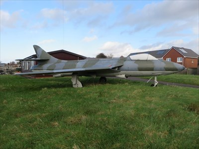 Hawker Hunter WT569 - Kenfig Hill, Wales.