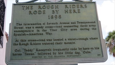 veritas vita visited Rough Riders Rode by Here 1898
