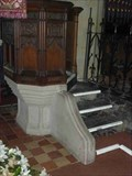 Image for Pulpit Base, St Mary, Abberley, Worcestershire, England