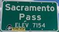 Image for Sacramento Pass - Elevation 7154