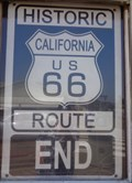 Image for Historic Route 66 - End - Santa Monica Pier - California, USA.