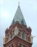 Image for Angels on Steeple of Chapel of the Incarnate Word - San Antonio, TX