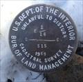 Image for T15S R10E S15 E 1/16 COR - Deschutes County, OR